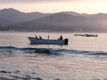 Fishermen in Mexico Royalty Free Stock Photos
