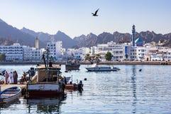 Muttrah Fish docks - Muscat, Oman Stock Photo