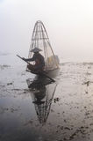 Fishermen, Myanmar Royalty Free Stock Image