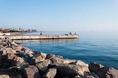 Fishermen Pier Stock Photos