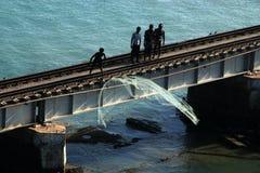 Fishermen of Rameshwaram Royalty Free Stock Photography