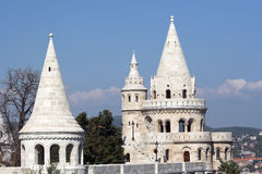 Fishermen's Bastion royalty free stock image