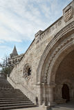 The Fishermen's Bastion. In Hungary, Budapest Royalty Free Stock Image