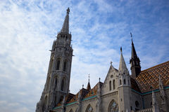 Fishermen's Bastion. On  on Castle Hill, Budapest, Hungary Stock Photography