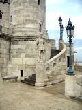 Fishermen's Bastion - Budapest. The Fisherman's Bastion in Budapest, build by Schulek in 1902, is so named because this strech of Buda's defensive walls was Royalty Free Stock Photography