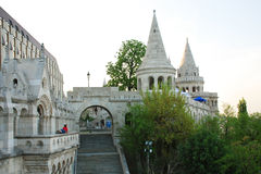 Fishermen's Bastion in Budapest. The historic building of Fisherman's Bastion in Budapest (Hungary Stock Photos