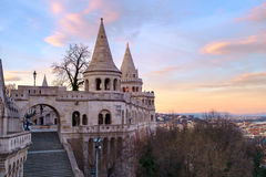 Fishermen's bastion in Budapest Stock Photos