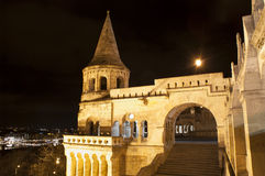 Fishermen's bastion, Budapest, Hungary Stock Photos