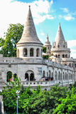 Fishermen's Bastion in Budapest, Hungary on a sunny day. Stock Image