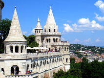 Fishermen's Bastion, Budapest Royalty Free Stock Photo
