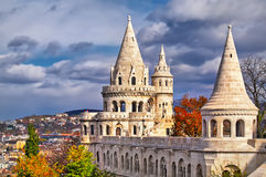 Fishermen's Bastion in Budapest Stock Photography