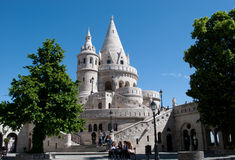 Fishermen's Bastion. Landmark in Budapest. Fishermen's Bastion. Hungary Royalty Free Stock Photo