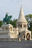 Fishermen's Bastion and St. Stephen king Stock Image