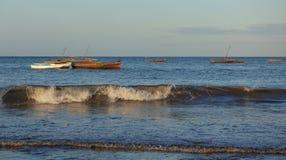 Fishermen's boats Stock Image