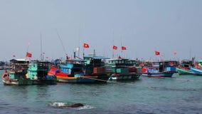 Fishermen's boats. Vietnam Stock Photos