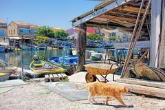 Free Fishermen`s District Of Sete, France Royalty Free Stock Photography - 144939307