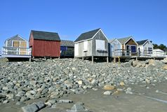 Fishermen's Houses Royalty Free Stock Photo