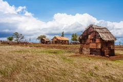 Rusted house Royalty Free Stock Image