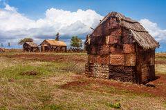 Rusted house Stock Photography