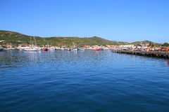 Fishermen's Pier - Arraial do Cabo - Brazil Royalty Free Stock Images