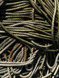 Fishermen's ropes Royalty Free Stock Photos