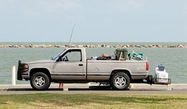 Fishermen's Truck Royalty Free Stock Photography