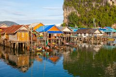 Fishermen's Village Royalty Free Stock Photography