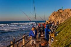 Fishermen Season Sunrise Sea Royalty Free Stock Photography