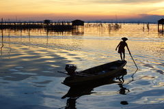 Fishermen Royalty Free Stock Images