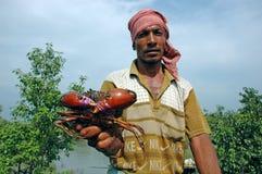 Fishermen of Sundarban Royalty Free Stock Photos