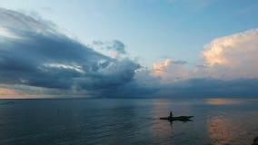 Fishermen at Sunrise  stock footage