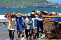 Fishermen telengria Stock Photos