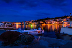 Fishermen Town Royalty Free Stock Images
