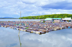 Fishermen Village Royalty Free Stock Images