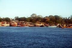 Fishermen village Stock Photo