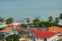 Fishermen Village. A fishing village on the Isla de Margarita Royalty Free Stock Photo