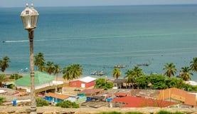 Fishermen Village. A fishing village on the Isla de Margarita Stock Images