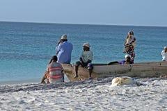 Zanzibar fishermen royalty free stock photography