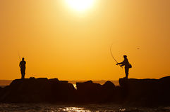 Fishermens Royalty Free Stock Photo