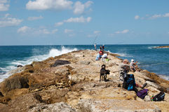 Fishermens Stock Photography