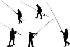 fishermens五 免版税库存照片