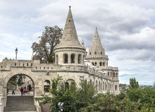 Fishermens Bastion in Budapest. Royalty Free Stock Photography