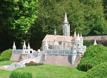 Fishermens Bastion, Budapest, Hungary.Klagenfurt.Miniature Park Royalty Free Stock Photography