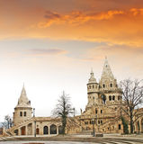 Fishermens Bastion in the Castle Hill, Budapest Stock Photos
