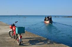 Fishers iść łowić Zdjęcia Royalty Free