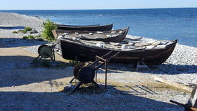 Fishers obóz Obraz Royalty Free