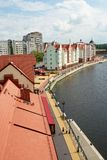 Fishers Village in Kaliningrad Royalty Free Stock Photography