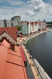 Fishers Village in Kaliningrad Royalty Free Stock Images