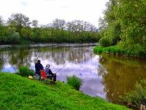 Fisherwoman Στοκ φωτογραφίες με δικαίωμα ελεύθερης χρήσης