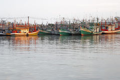 Fishery. ฺBan phe harbor in rayong thailand Stock Photos